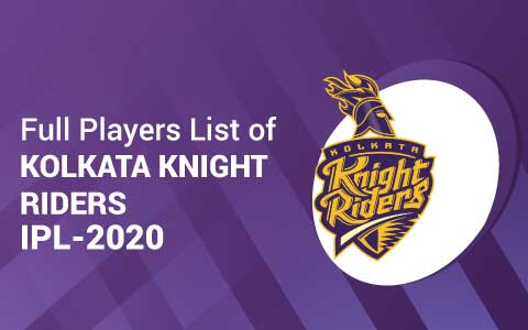 KKR 2020 players list
