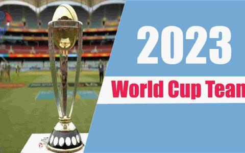 2023 England team
