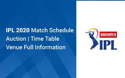 IPL 2020 Match