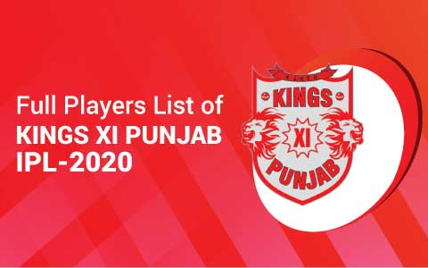 Kings Xi Team 2020