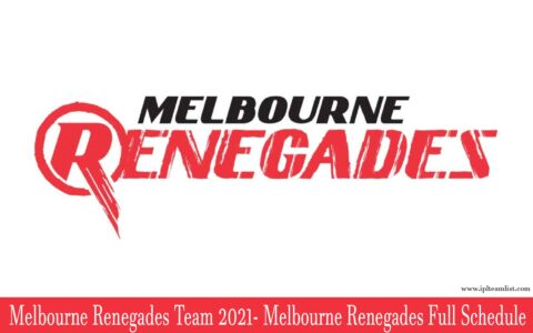 Melbourne Renegades Team