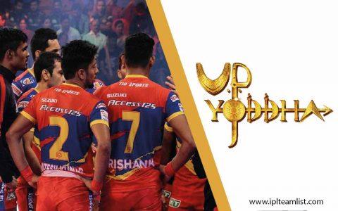 UP Yoddha Team 2021