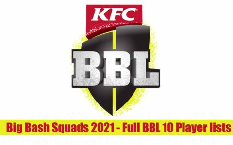 Big Bash 2021 Player List