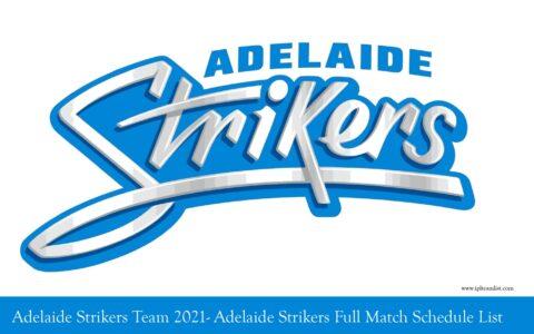 Adelaide Strikers Team
