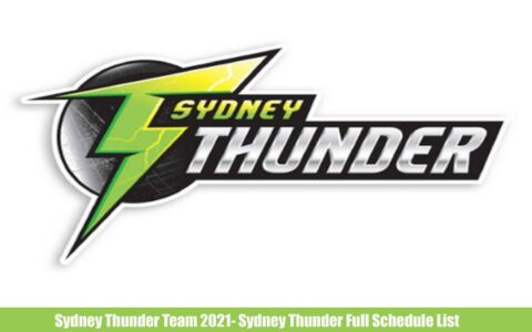 Sydney Thunder Team